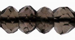 4mm Smokey Quartz Gemstone Beads