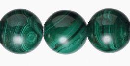 12mm Malachite Beads