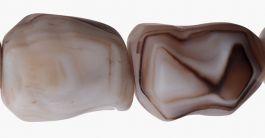 Matte Sardonyx Beads