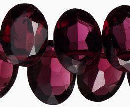 Drilled Gemstone - Garnet