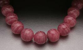 8 mm Round AAA Rhodochrosite  Beads