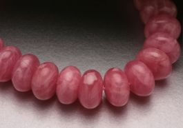 8mm AAA Rhodochrosite Beads