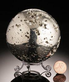 Pyrite Sphere, Peru