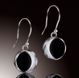 Phases of the Moon Single Drop Earrings
