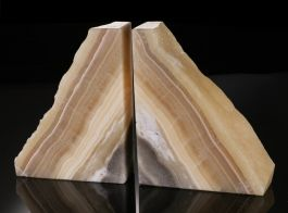 Onyx Bookends