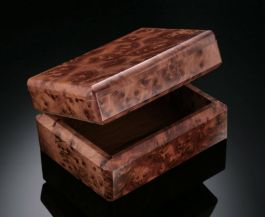 Thuya Wood Keepsake Boxes