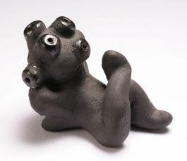 Mudhead Figurine