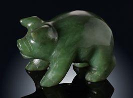 Jade Pig Miniature