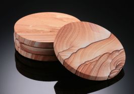 Sierra Sandstone Coasters
