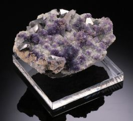 "2.5"" Fluorite with Arsenopyrite Specimen"