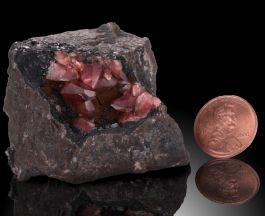 Rhodochrosite Crystal Cluster