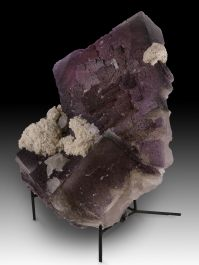 "12"" Large Elmwood, Tennessee Fluorite with Calcite"