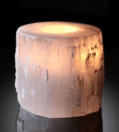 Selenite Candleholders