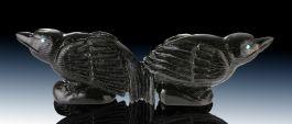 Zuni Double Raven (Jet)