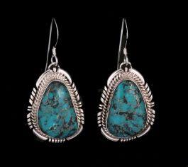 Navajo Kingman Turquoise Earings