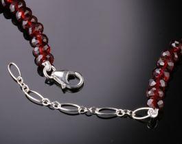 5mm Garnet Necklace