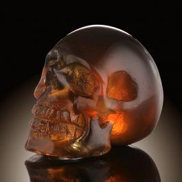 Amber Skull