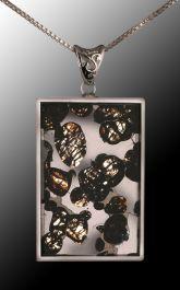 Sericho Meteorite Pendant