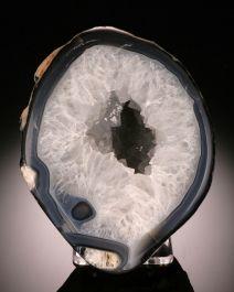 Quartz Crystal Geode w/ stand