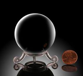 """2"""" Obsidian Sphere"""