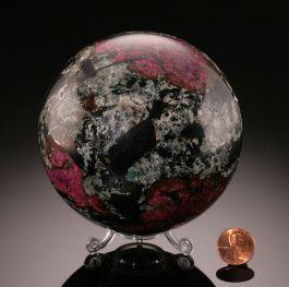 Eudialyte Sphere