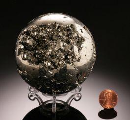 "3"" Pyrite Sphere"