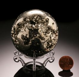 Pyrite Sphere from Peru