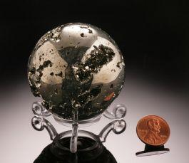 "2-1/4"" Pyrite Sphere"