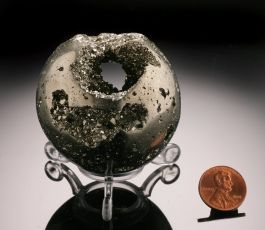 "2"" Pyrite Sphere"