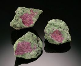Ruby in Zoisite Specimens