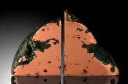 Michigan Copper Bookends