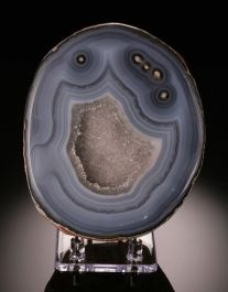 Banded Geode-Brazil (with stand)