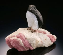 Penguin Gemstone Carving