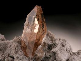 Imperial Topaz Crystal in Matrix