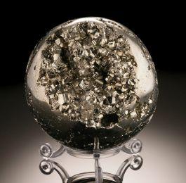 "3-1/4"" Pyrite Sphere"