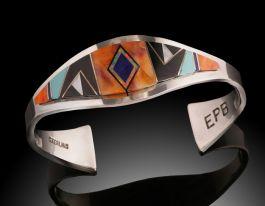 Navajo Cuff Bracelet by Edward Becinti