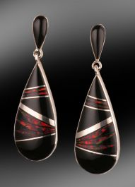 Sheryl Martinez Navajo Inlay Earrings