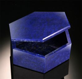 Lapis Lazuli Hinged Box