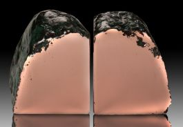 Float Copper Bookends