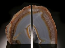 """5"""" Agate Bookends"""