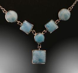 Larimar Multi-Stone Necklace