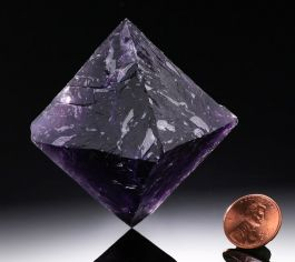 """2-1/4"""" tall Fluorite Octohedron"""