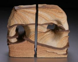 "5.75"" Sandstone Bookends"