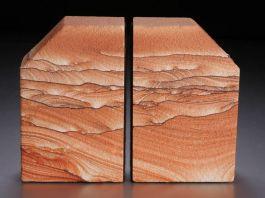 Sierra Sandstone Bookends