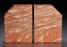 "6.75"" Sierra Sandstone Bookends"