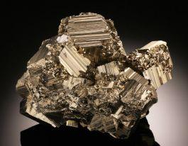 Large Pyrite Cluster, Peru
