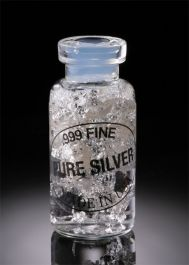 Silver Vial (small)