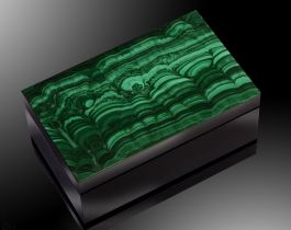 Malachite Gem Box