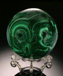 Malachite Sphere