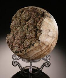 Marcasite/Barite Sphere